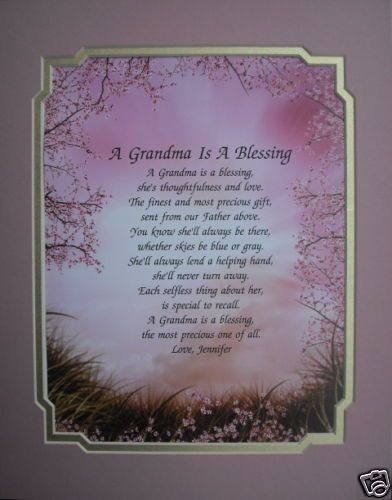 POEM PERSONALIZED GIFTS FOR BIRTHDAY, CHRISTMAS, MOTHERS DAY